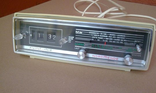 NordMende Digital Clock Radio