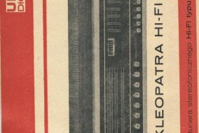 Unitra Diora tuner Kleopatra hifi - instrukcja