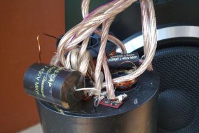 Unitra Tonsil Altus 110 - nowe kable i kondensatory.