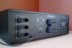 Unitra Fonica wzmacniacz stereo WS 503 - tył