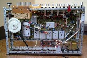 Unitra Diora tuner TST-102 Kleopatra hi fi - wnetrze