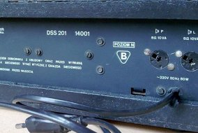 Unitra Diora Amator 2 stereo - tył