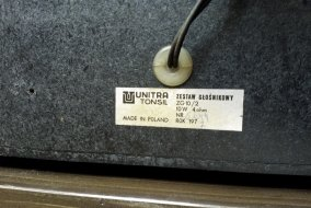 tył kolumny od zestawu Duet DSP -301